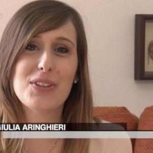 Giulia Aringhieri a Storie TG2