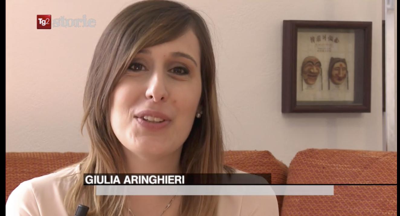 La storia di Giulia Aringhieri su Rai Due