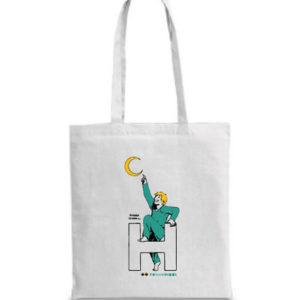 I Regali La borsa shopper bianca Sintomi di Felicità di Andrea Camerini