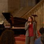 Presentatrice Tour Sintomi di Felicità Arezzo