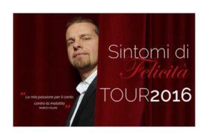 comunicato stampa tour 2016 press rassegna stampa sintomi felicita