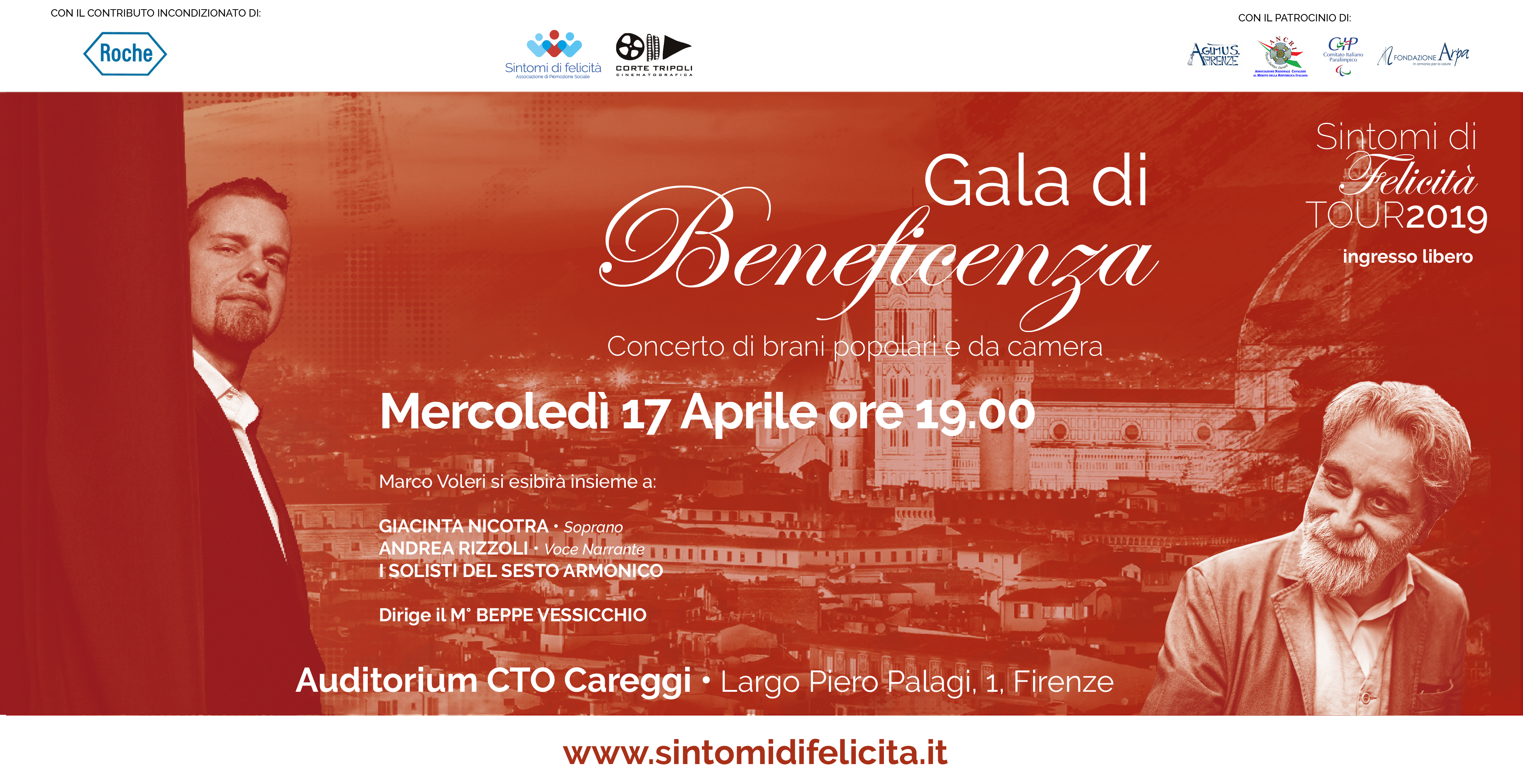 Firenze Seconda Tappa Sintomi Tour 2019